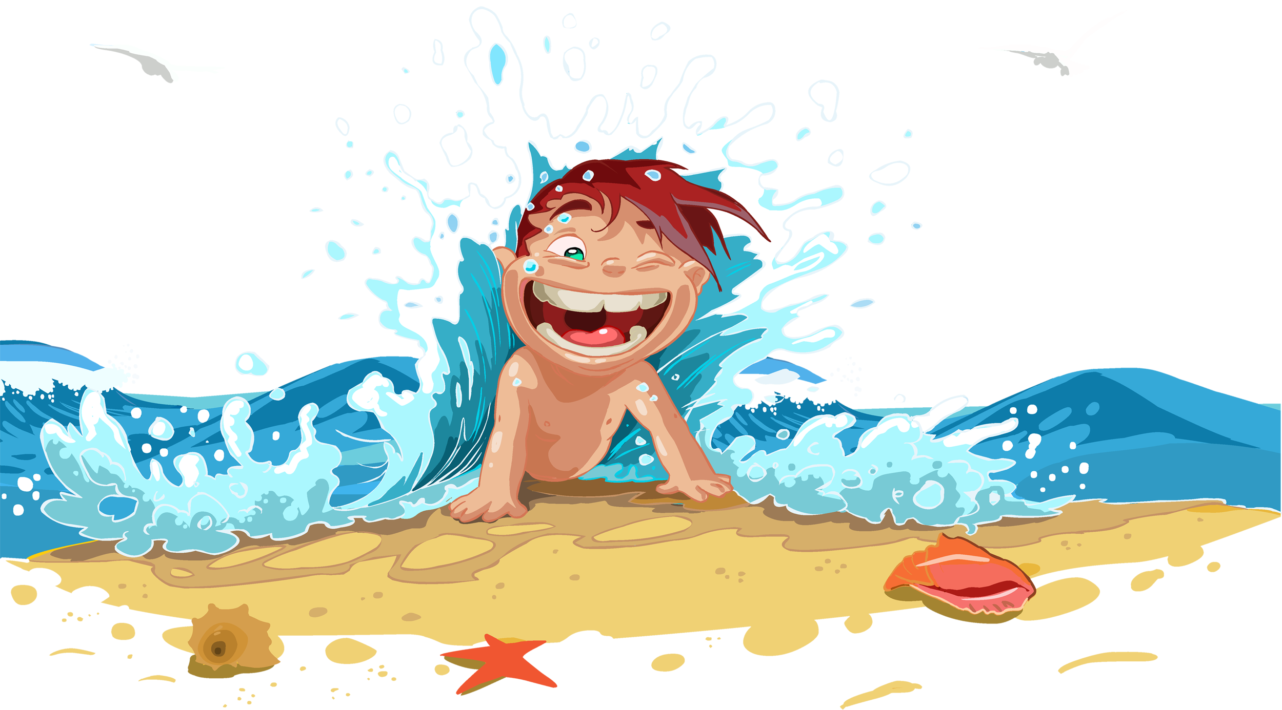 картинки мультяшек в воде тыква титан