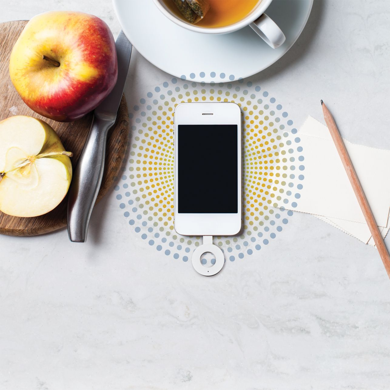 DuPont™ Corian® Charging Surface   Wireless Cellphone Charging On Your  Kitchen Countertop