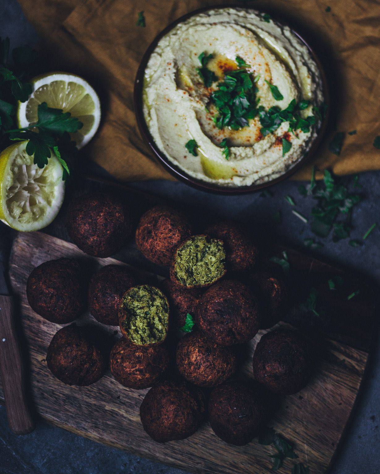 Falafel – The Unlabeled Chefs – Carey&CleanEatingS