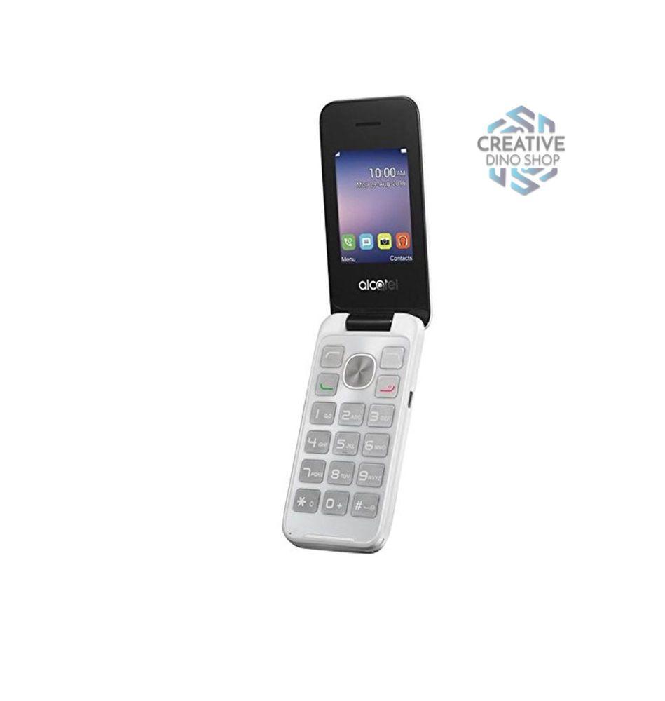 Alcatel flip phone unlocked 2g gsm dual sim camera 24