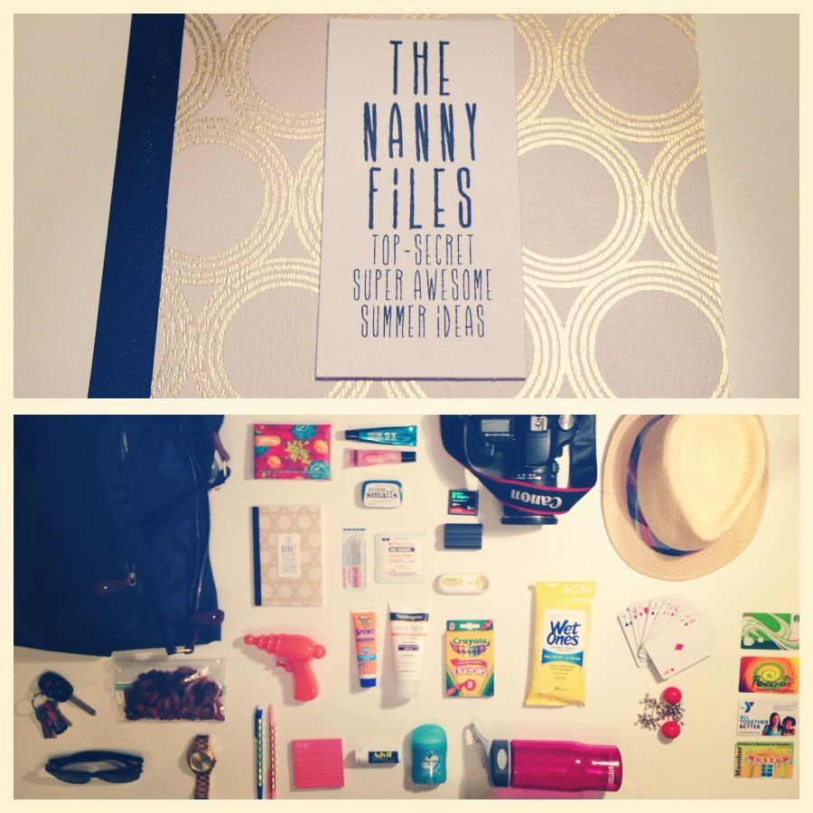 The Nanny Files. What's In Her Bag: Summer 2013.