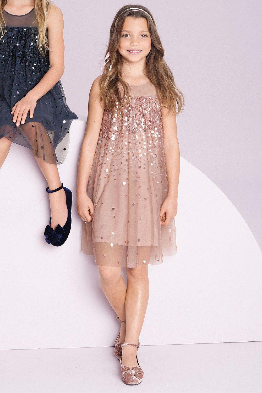 Girls Tops Online - 3 to 16 years - Next Sequin Tunic - EziBuy New ...
