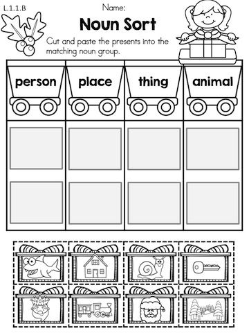 Christmas Literacy Worksheets 1st Grade With Images Literacy