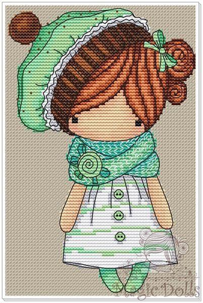 Magic dolls вышивка крестом