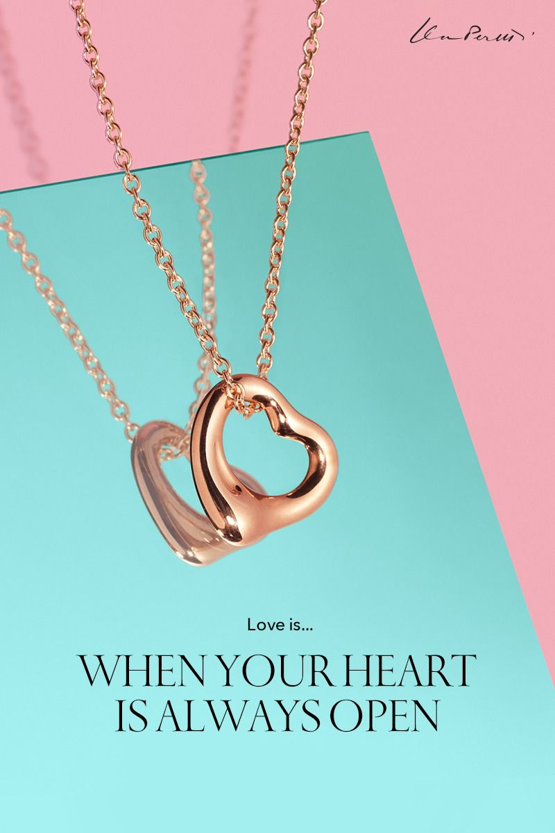 64a793dde Open Heart Pendant in 2019 | The Tiffany Valentine's Day Gift Guide ...