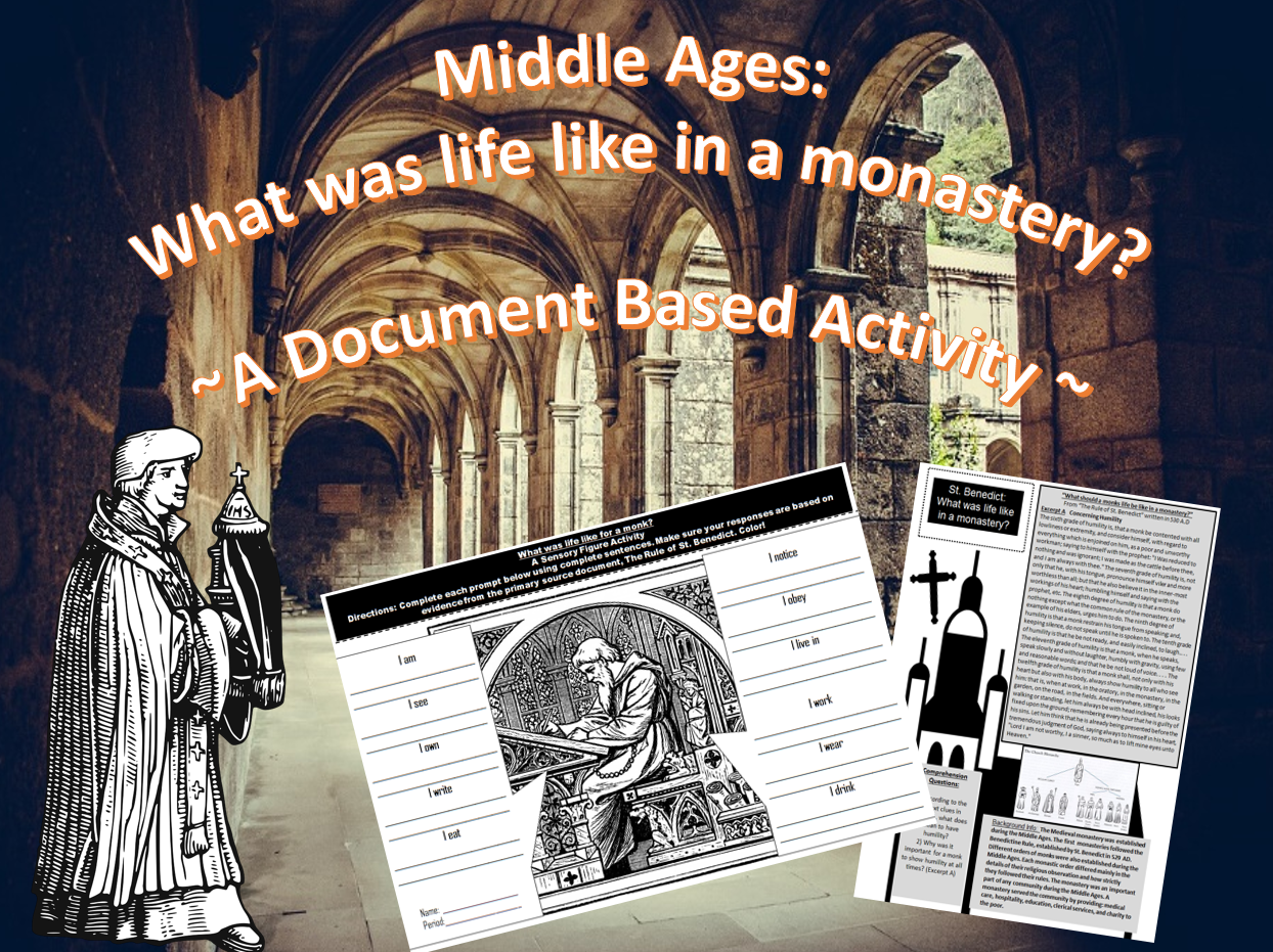 Middle Ages What Was Life Like In A Monastery Document