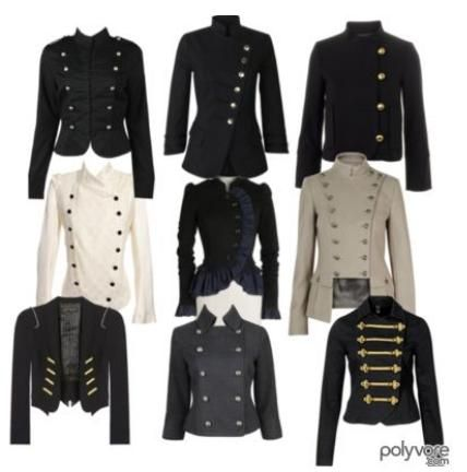 military style jackets for women | fashion | Pinterest | Military ...