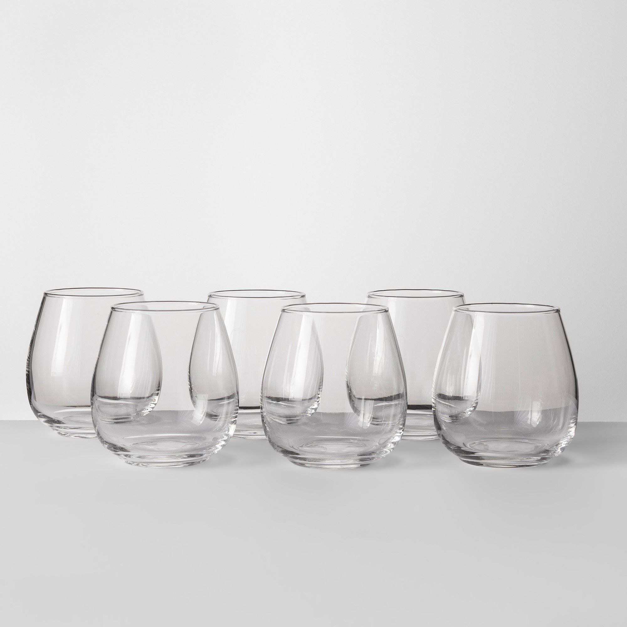 16oz Stackable Stemless Wine Glass