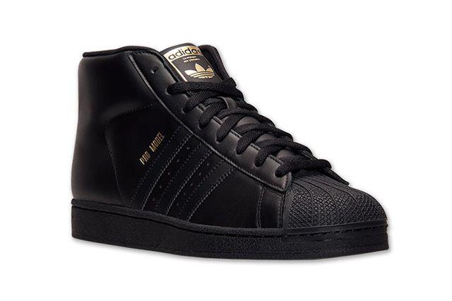 adidas pro model triple black sneaker freaker all. Black Bedroom Furniture Sets. Home Design Ideas