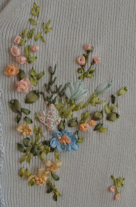 Silk Ribbon Embroidery Supplies Hand Made Presents Holiday Gifts