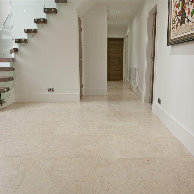 Moleanos Fine Beige Honed Large Limestone Floor Tiles