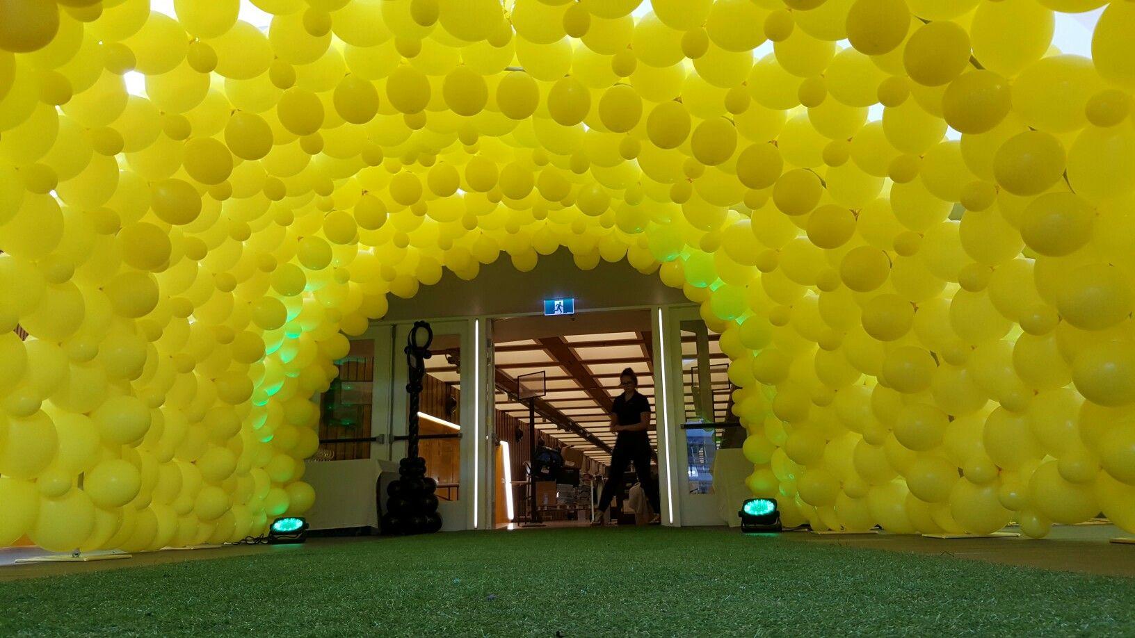 Giant 8m long balloon tunnel. www.balloons.com.au | balloons ...