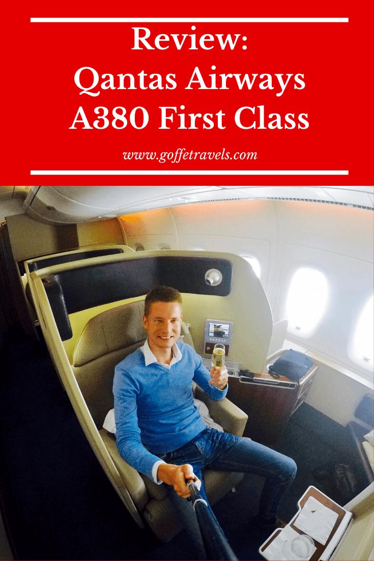 Flight Review Qantas Airways A380 First Class First