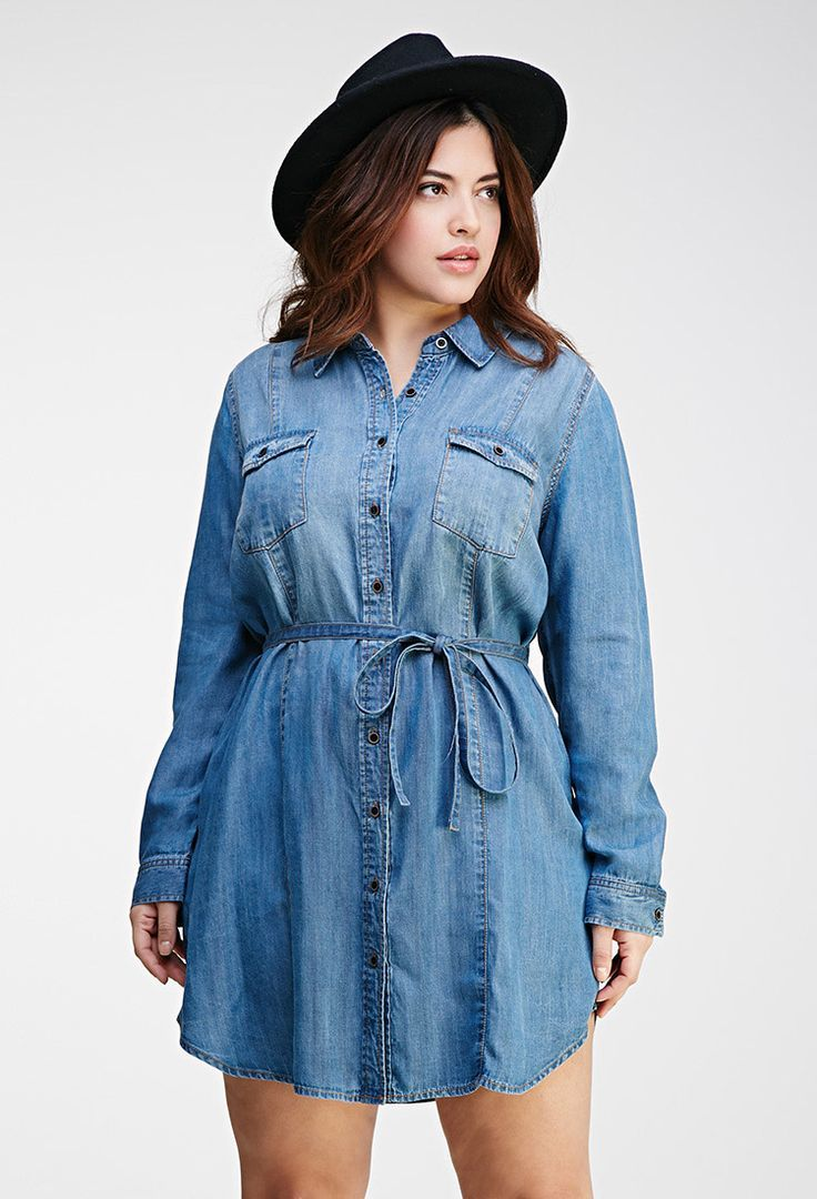 72893f24d9a A denim shirt is an essential garment for all men and women. Make sure that  it is loose and comfortable on you. With this key item
