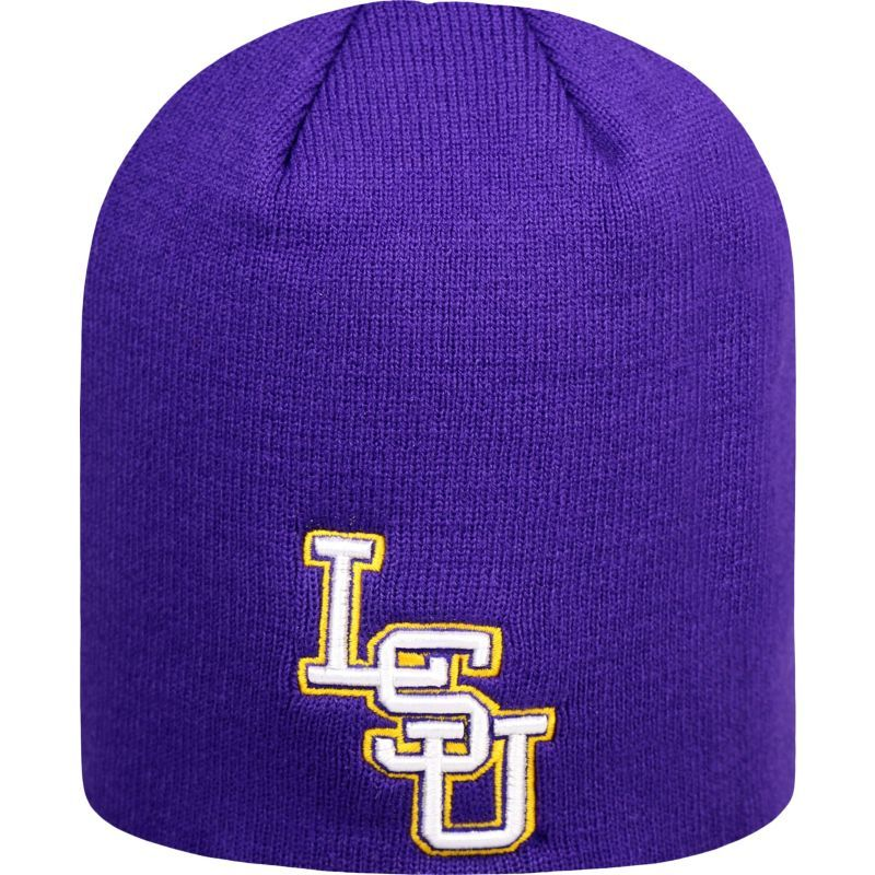 Top of the World Men's LSU Tigers Purple TOW Classic Knit Beanie