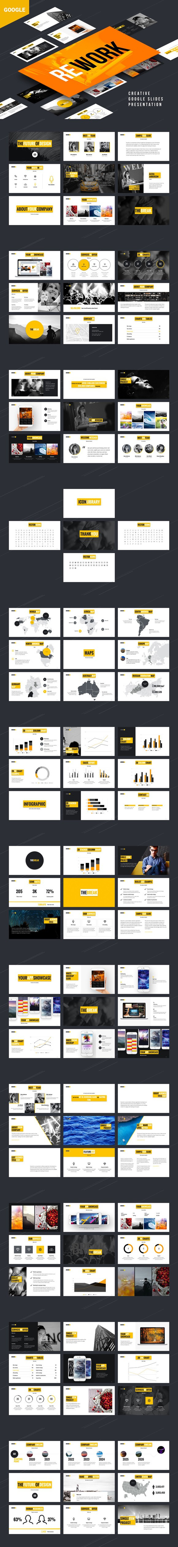 Rework Google Presentation. Google Slides Templates. $16.00 | Google ...