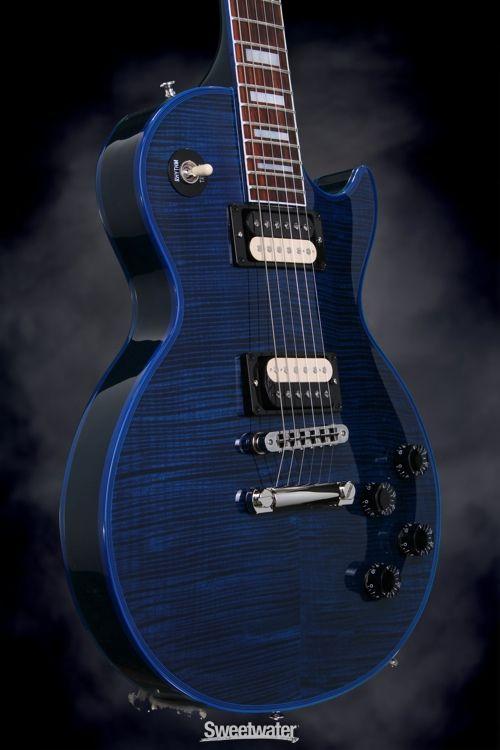gibson custom sweetwater les paul custom stingray blue in 2019 les paul guitar gibson. Black Bedroom Furniture Sets. Home Design Ideas
