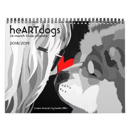 Calendar Sample Design Heartdogssandra Miller 24 Month Chow Calendar  Samples  Pinterest