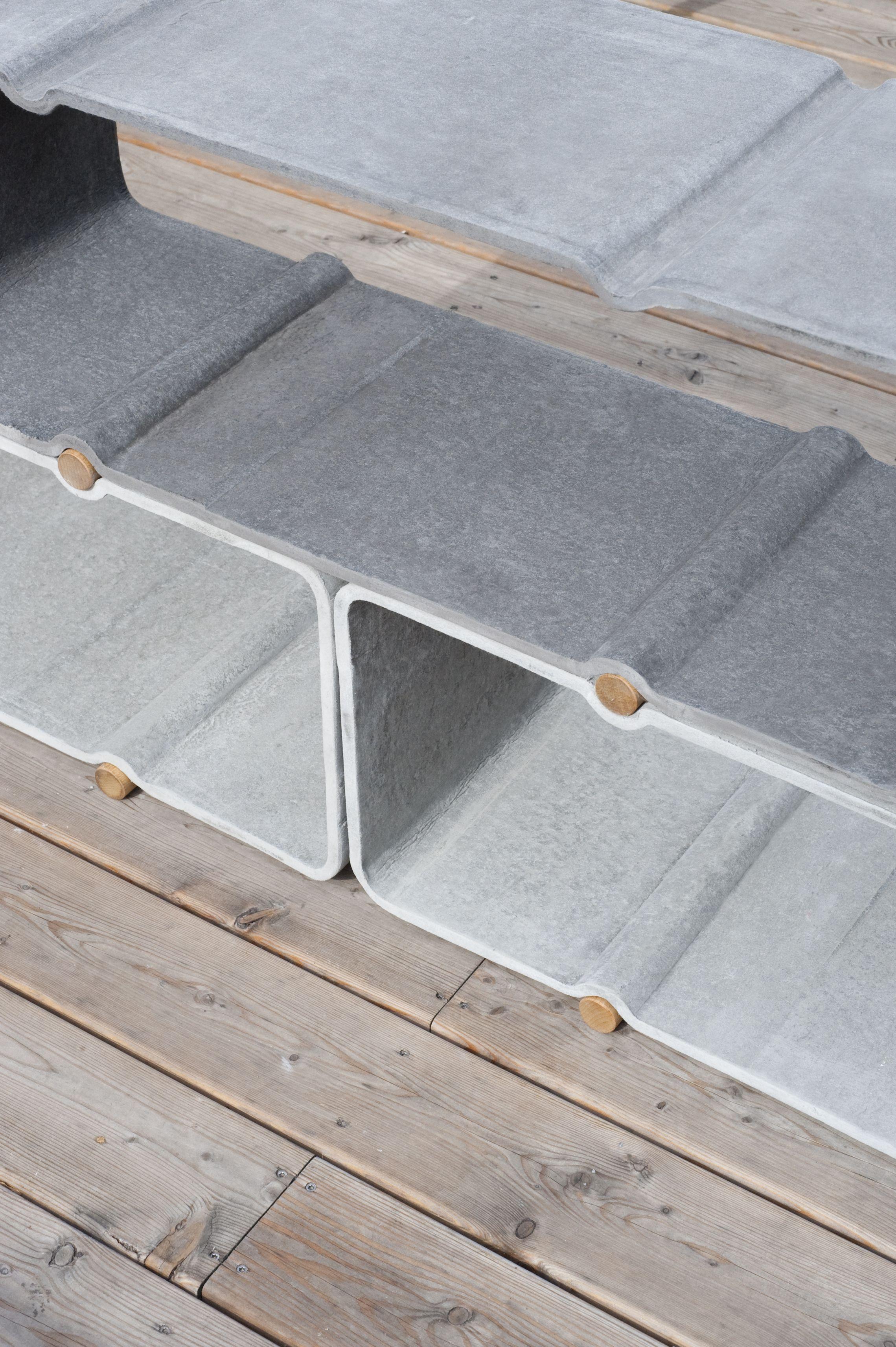 homas feichtner / making of / basso shelf system in fibre cement / eternit AG austria / 2012