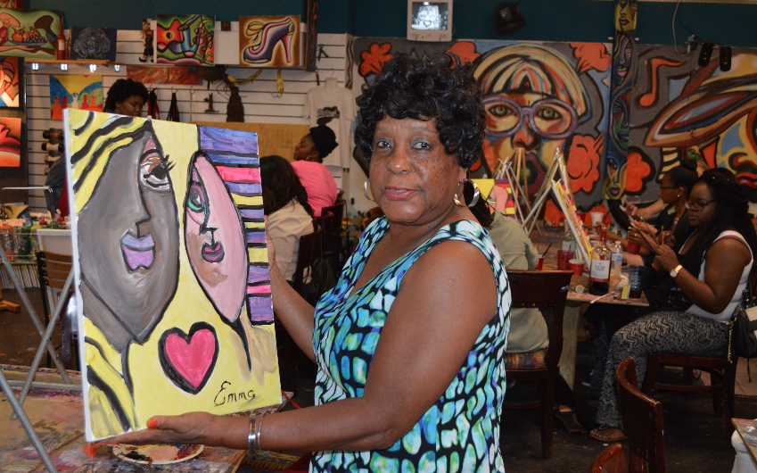 Our Atlanta Art Classes - No experience is required, 100% novice oriented! - BYOB - Decatur Georgia - http://creative-art-connection.us
