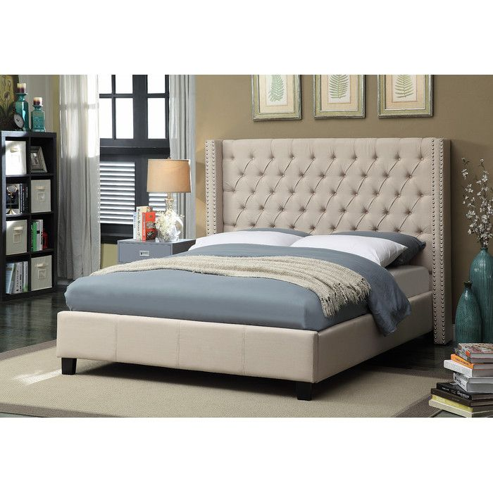 Three Posts Declare Upholstered Panel Bed & Reviews | Wayfair ...