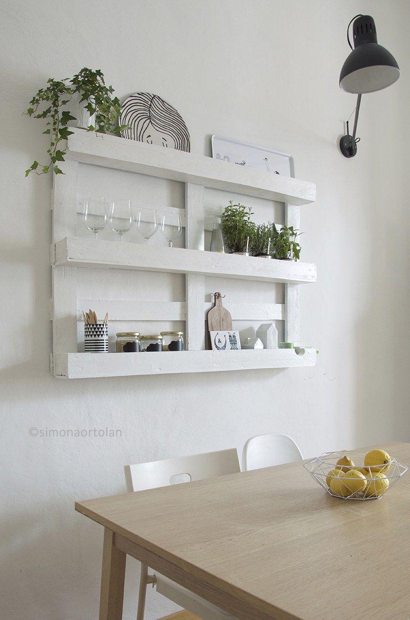 Cucina Pallet Fai Da Te riciclare dei bancali per arredare la cucina! ecco 15 idee