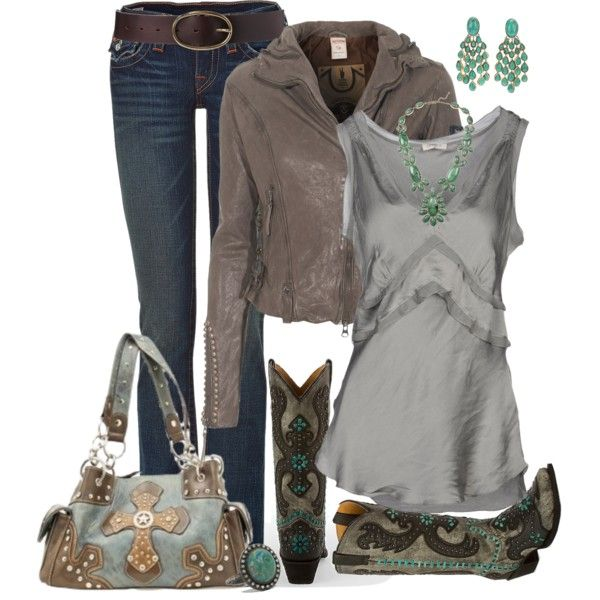 """""""Classy Cowgirl"""" by fantasy-closet on Polyvore"""