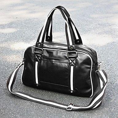 Men's Casual PU Crossbody Bag