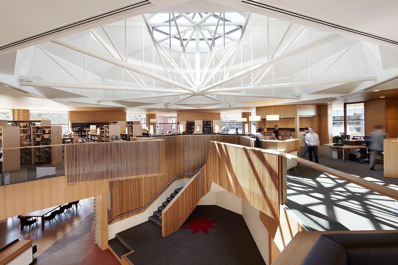 Ormond College Academic Centre By McGlashan Everist Australia