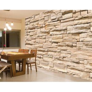 fototapete steinwand gre 400 x 280 cm 8 teilig amazonde