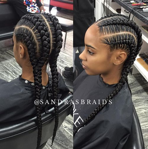 African American Cornrow Hairstyles 9