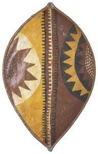 How to Make an African Zulu Shield | Being Arty with Kids