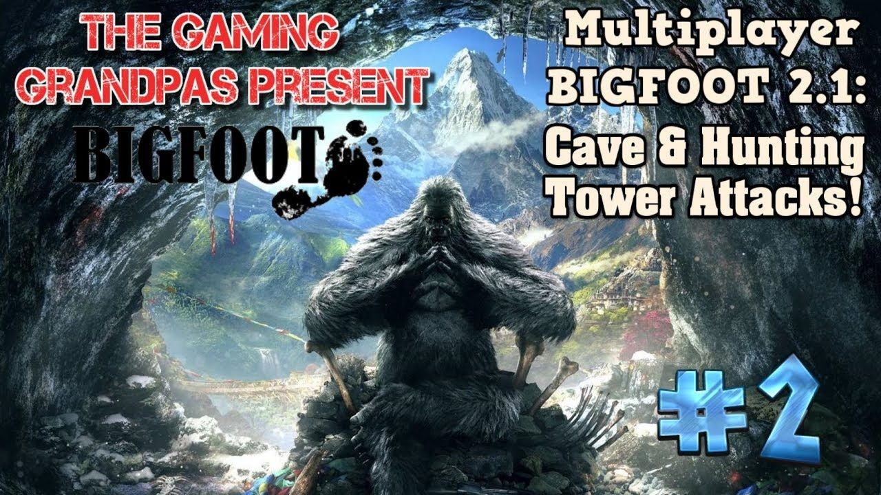 Multiplayer BIGFOOT 2 1: Cave & Hunting Tower Attacks! - The
