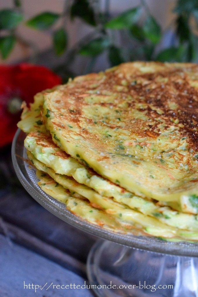 Pancakes aux légumes - recette simple -