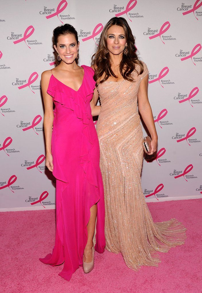 April 2012   Elizabeth hurley, Hurley and Pink dresses