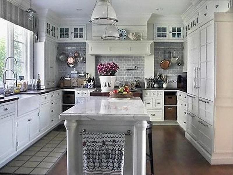 25+ Beautiful White Kitchens Ideas for Better Mood Every Day