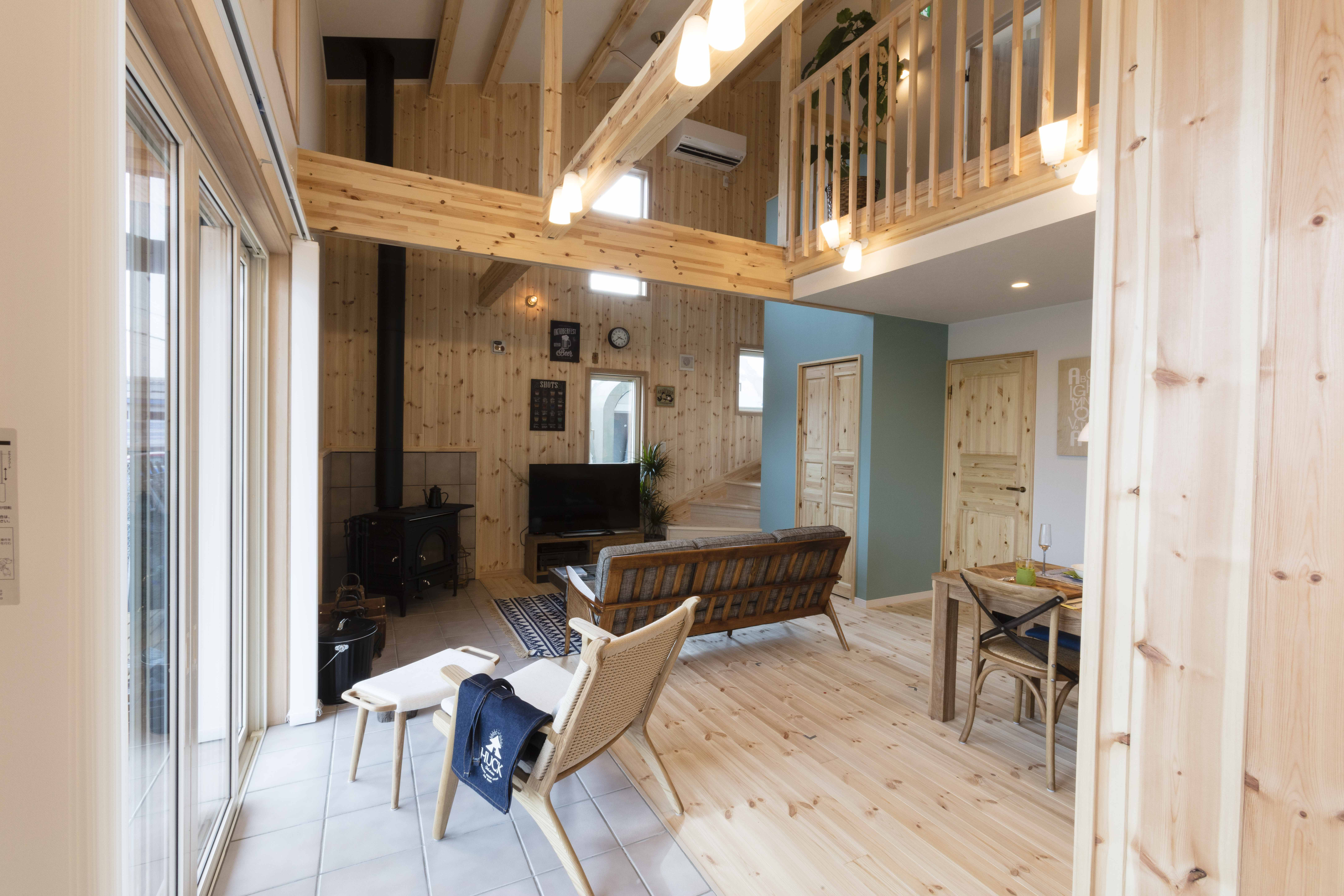 自然素材の木の家 Huck 家 木の家 家 Diy