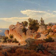 Albert Flamm . Capri . 1849.