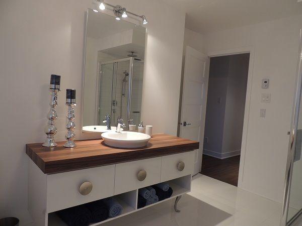 vanité de salle bain | Vanité salle de bain contemporain maison ...