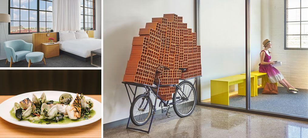 21c Museum Hotel Oklahoma City Is A Contemporary Art Museum Boutique Hotel And Home To Chef Driven Restaurant Mary Eddy Museum Hotel Hotel Restaurant Hotel