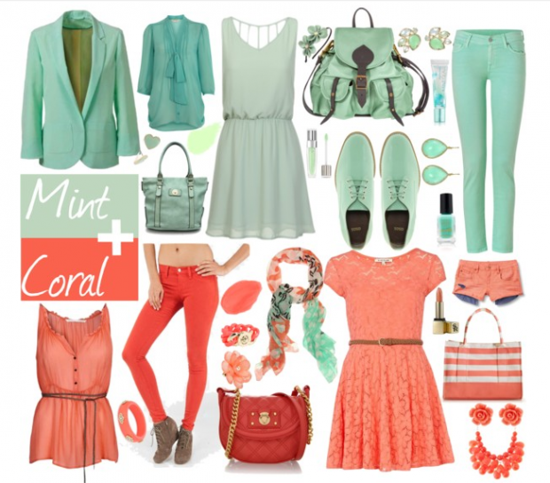 Mint And Coral My Fav Colors