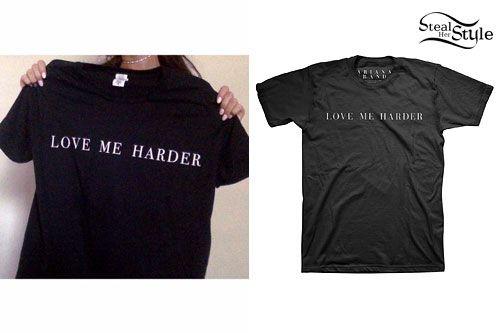 Ariana Grande: Love Me Harder T-Shirt