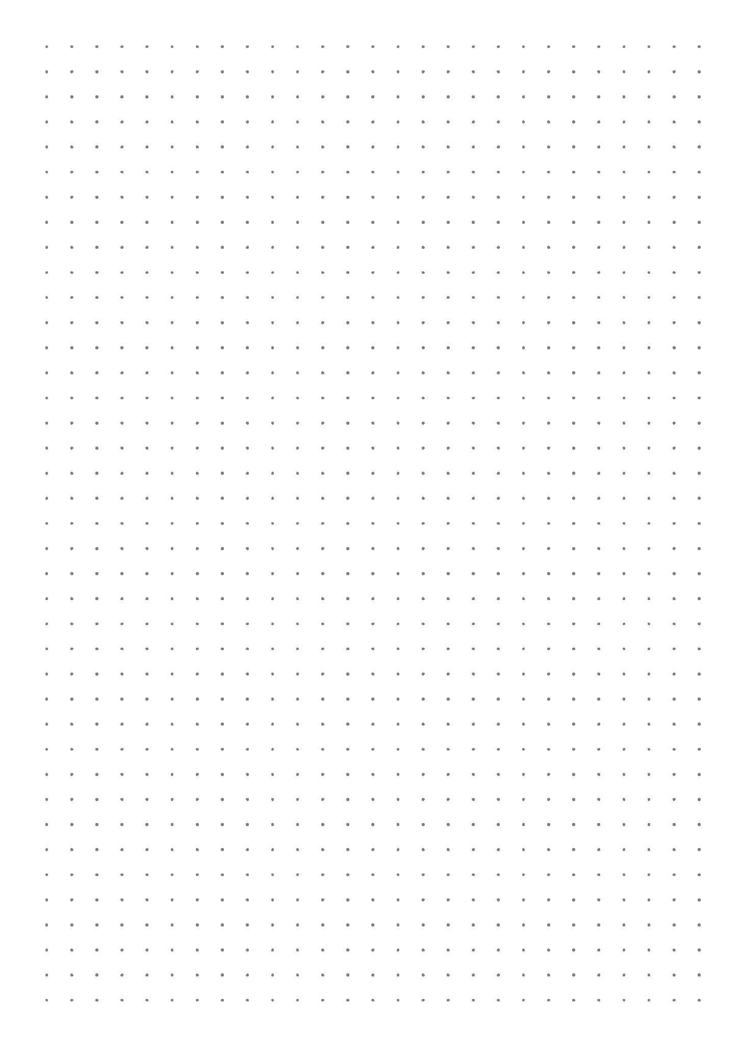 Printable Dot Grid Paper With 5 Mm Spacing Pdf Download Bullet Journal Dot Grid Bullet Journal Paper Printable Graph Paper