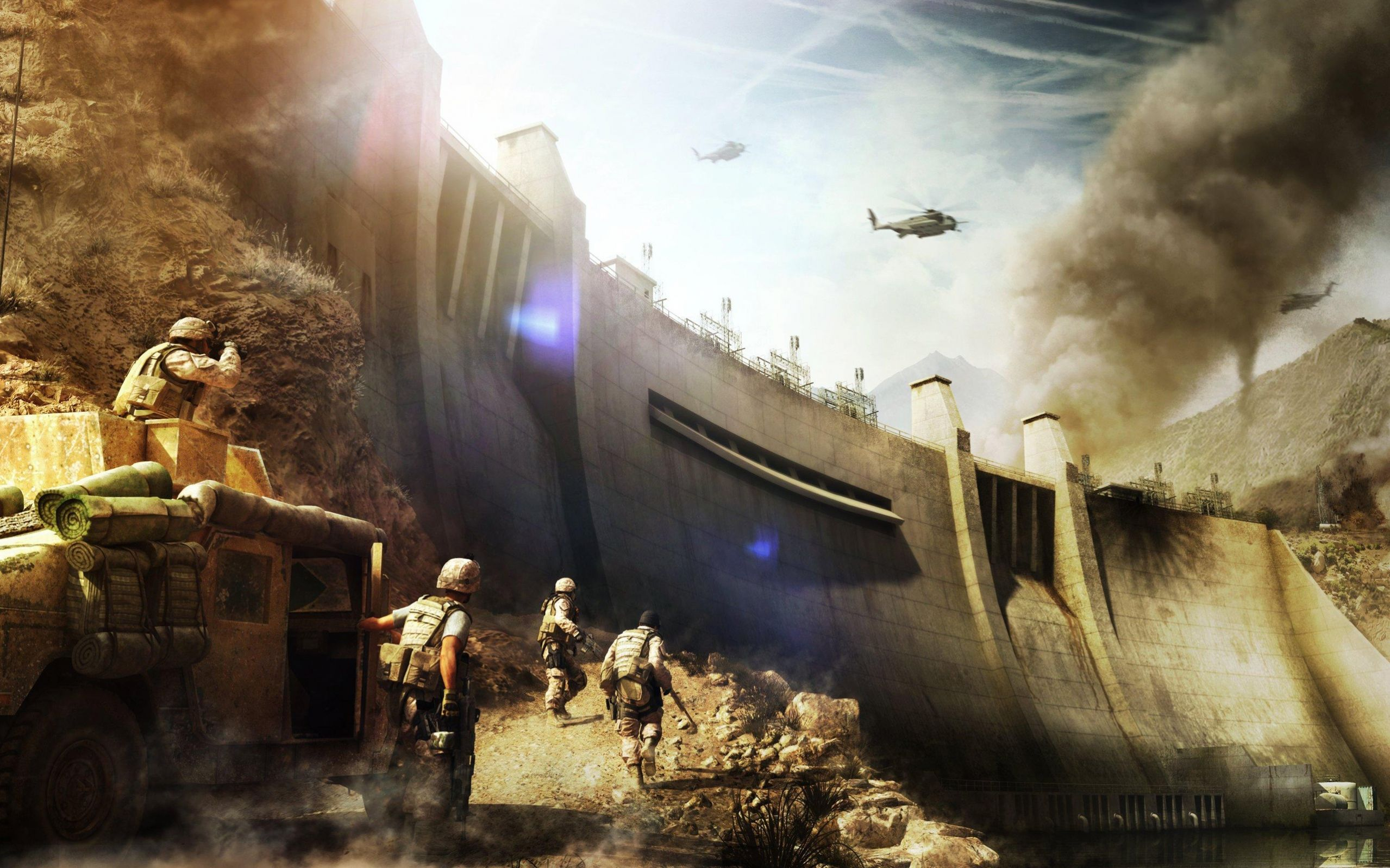 Operation Flashpoint Red River Wallpaper