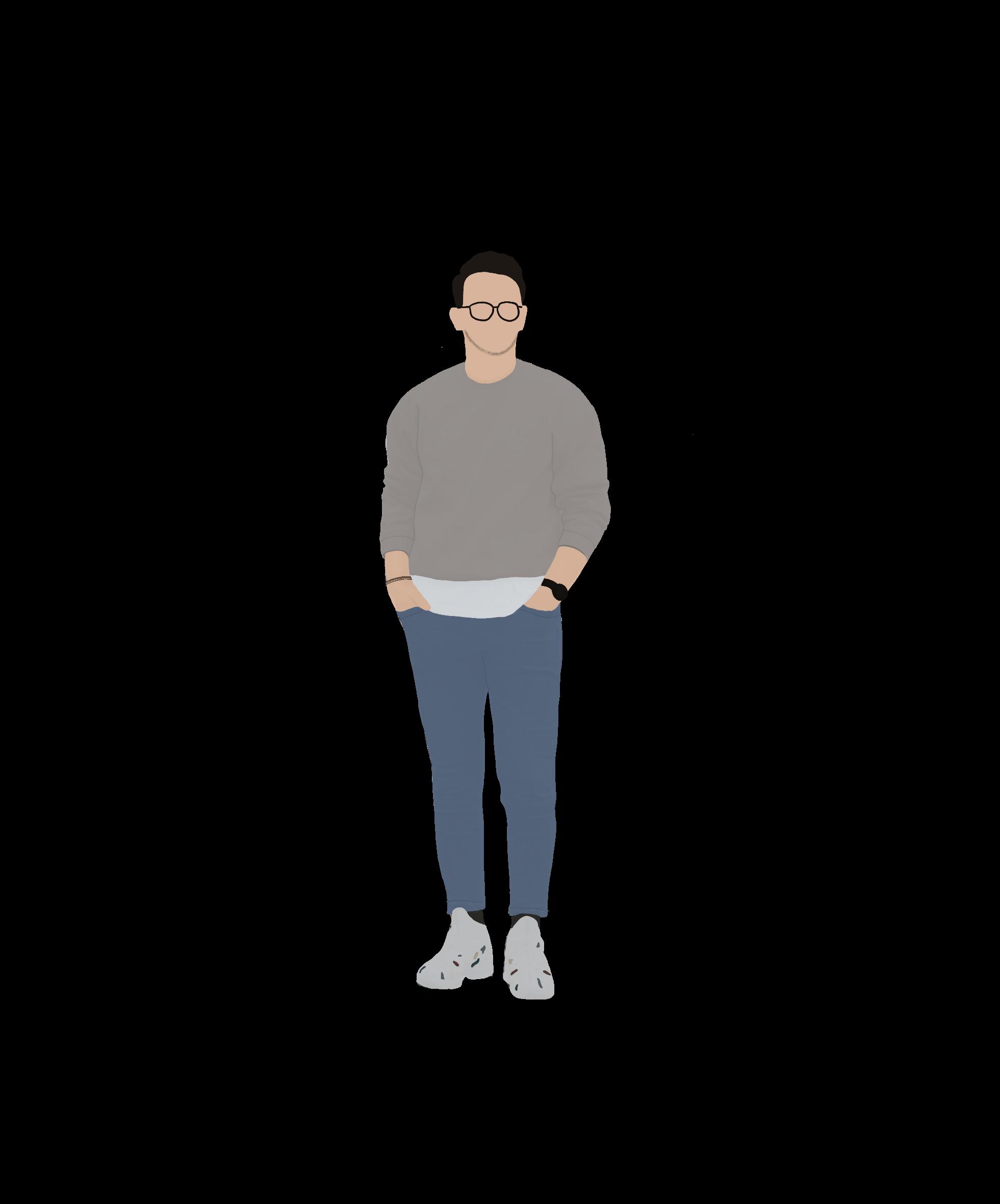 Human Scale Architecture Illustration Em 2020 Ilustracao De Pessoas Photoshop Ilustracoes