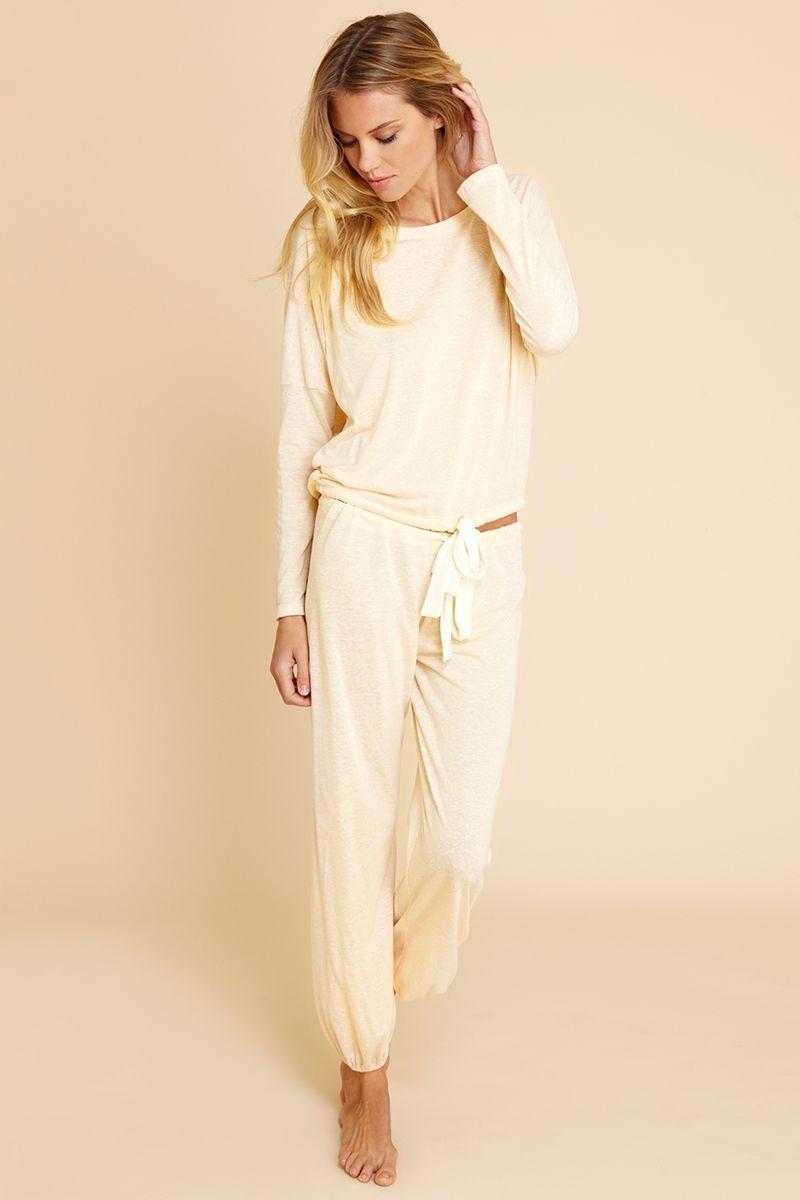 9b8db02e0c4 Heather Slouchy Tee  eberjey  loungewear  sleepwear