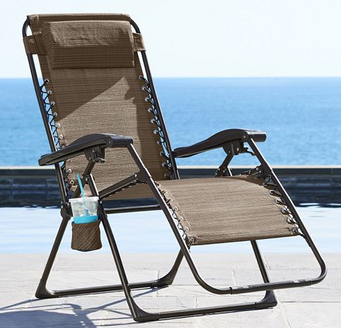 Kohls Com Sonoma Patio Antigravity Chair For Just 25 49