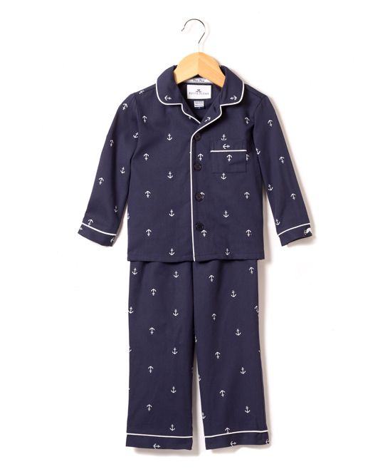 6eb5821a120 Navy Anchor Pajama Set - Infant Toddler & Kids | Products | Anker