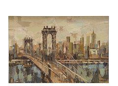 City Bridge Canvas Wall Art Raymour Flanigan Wall Art Online