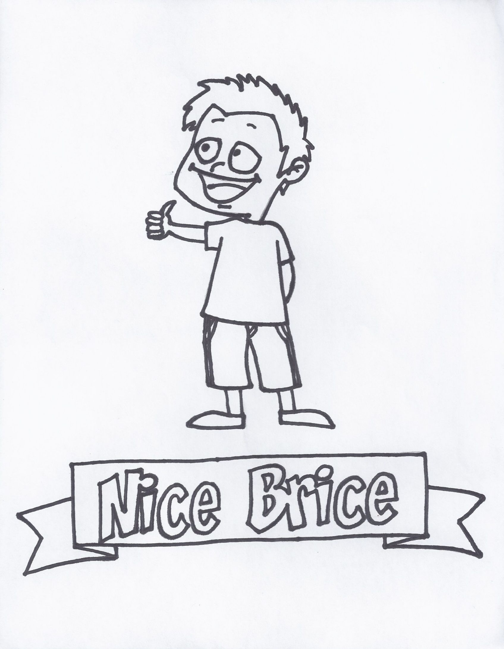Nice Brice I Help You Say Nice Friendly Words To Others Even If You Don T Feel Like Being